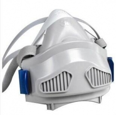 3M 7771 7770系列硅胶半面型单滤盒防尘面罩(小号)