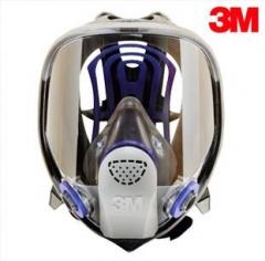 3M FF-403  FF-400系列硅胶全面型防护面罩(大号)