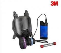 3M PowerflowTM 面具式电动送风防尘呼吸防护系统 6800PF