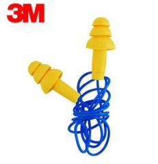 3M E.A.R 340-4004 Ultrafit 圣诞树型带线耳塞