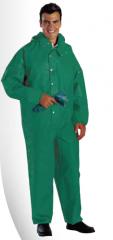 代尔塔 PVC涂层液密连体防化服 CO600