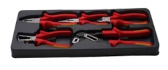 蓝点 工具托组套—5件VDE钳子 BPS24